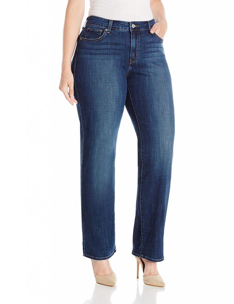 Levi's Straight Plus Size Jeans