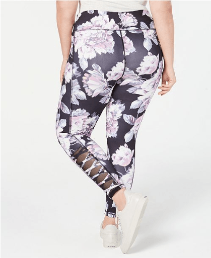 7689d2528 Screenshot 2019-01-22 Ideology Plus Size Printed Cutout Ankle Leggings