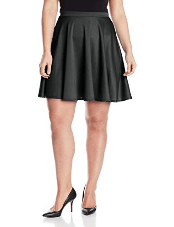 Star Vixen Women's Plus-Size Short Skater Skirt at Amazon Women's Clothing store