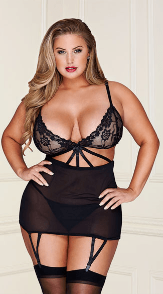 365cfc383ccf The Best Sexy Plus Size Lingerie List – Cheap and Affordable