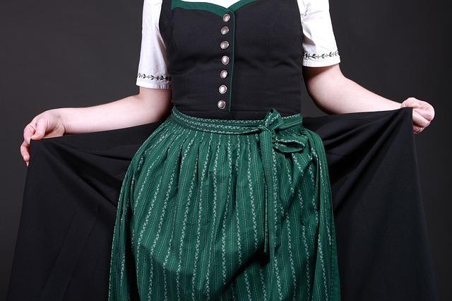 costume, dirndl, tradition