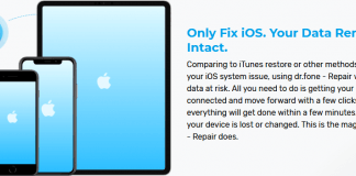 dr fone - Repair (iOS System Recovery) Fix iOS to Normal Quickly