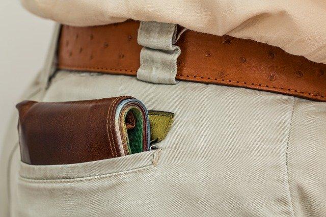 wallet, cash, pocket