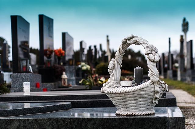 cemetery, grave, tomb