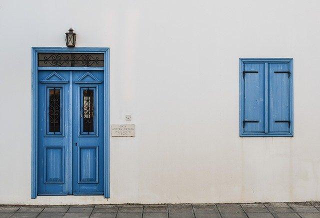 door, window, wooden