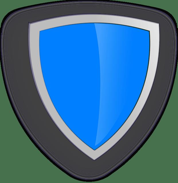 shield, gold, symbol
